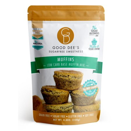 Muffin Mix-Low Carb, Sugar Free, Gluten Free, and Grain