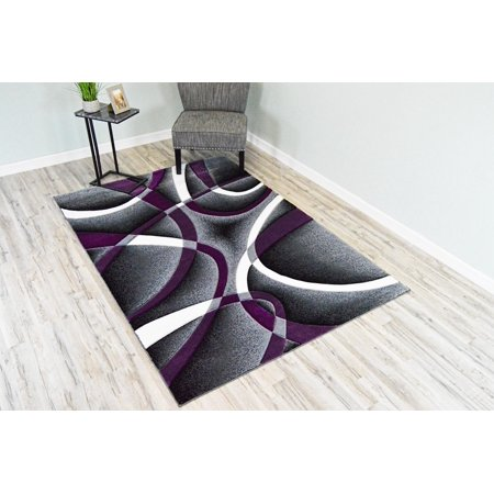 Premium 3d Hand Carved Modern 2x3 2x4 Rug Contemporary