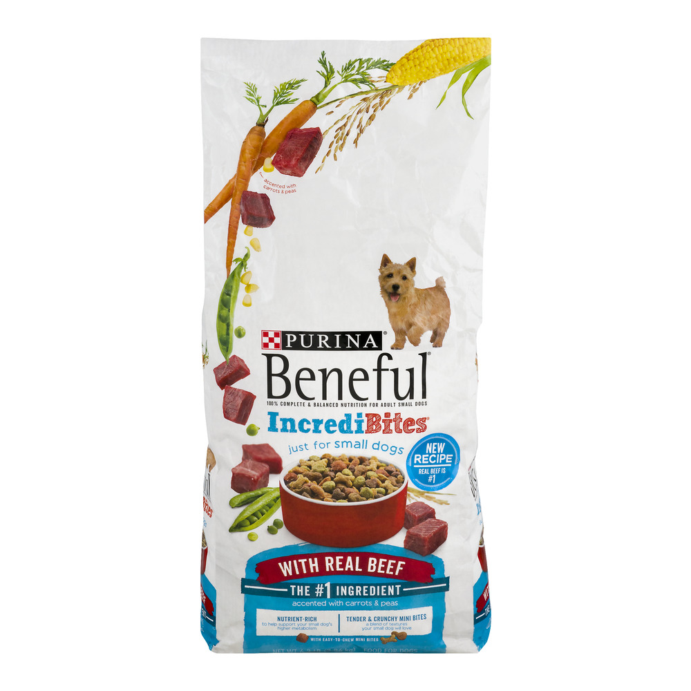 Purina Beneful Incredibites For Small Adult Dogs With Real Beef, 6.3 LB