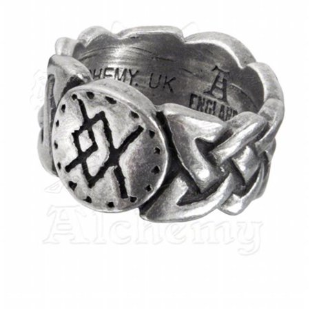Alchemy Metal-Wear R195Q Anneau de course Viking Virility, Q - 8.5 - image 1 de 1
