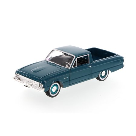 1960 Ford Ranchero Pickup Truck, Green - Motormax 79321 - 1/24 Scale Diecast Model (1966 Ford Ranchero)