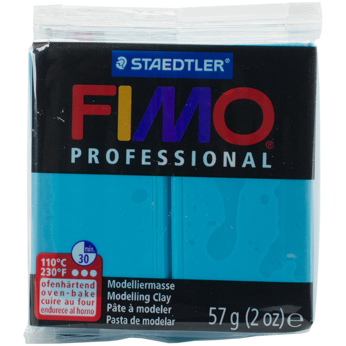 Fimo Professional Soft Polymer Clay 2oz-Turquoise