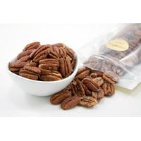 Roasted Pecan Halves (1 Pound Bag) (Salted)