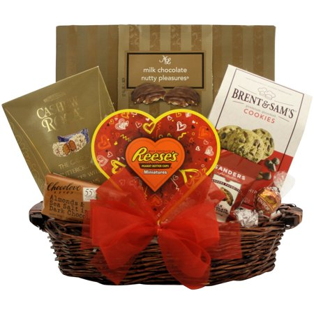 Totally Nuts Over You!: Valentine's Day Gourmet Gift Basket - Valentine Diys