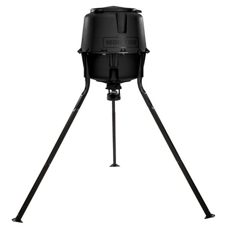 Moultrie 30 Gallon Hopper Hunting Tripod Deer Feeder Standard with Digital Timer