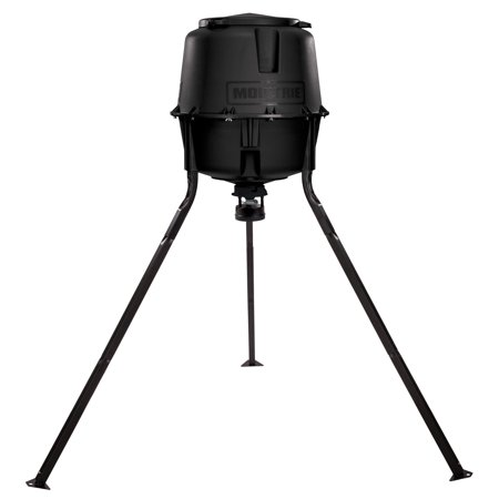 Moultrie 30 Gallon Hopper Hunting Tripod Deer Feeder Standard with Digital (Best Deer Feeder Remote)