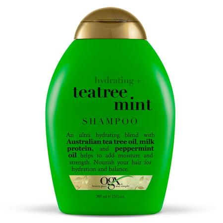 OGX® Hydrating + TeaTree Mint Shampoo, 13 Fl OZ Head Not Mint