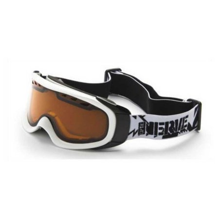 Optic Nerve Goggles - Optic Nerve Sawatch White Performance Ski/Snowboard Goggles. Copper Lens. 21216