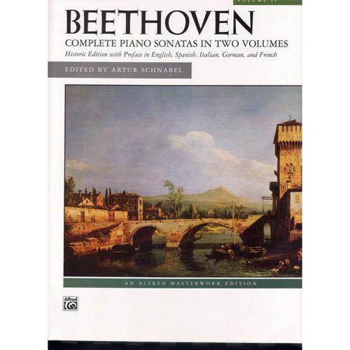 Alfred Beethoven Sonatas Volume II (Nos. 18-32) by Alfred Publishing Company