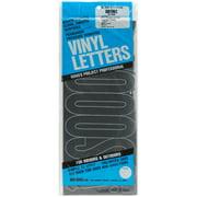"""Permanent Adhesive Vinyl Letters 6"""" 94/Pkg-Black"""
