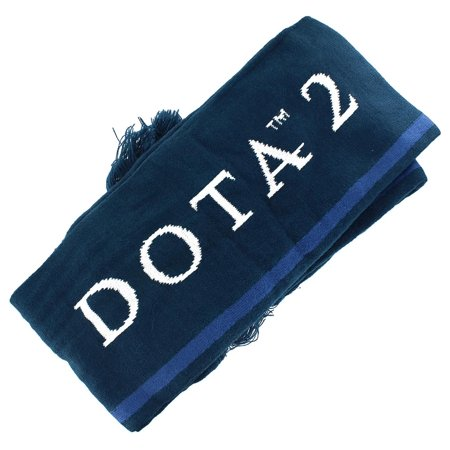 DOTA 2 The International DOTA 2 Championship Blue Scarf - Dota 2 Halloween Items