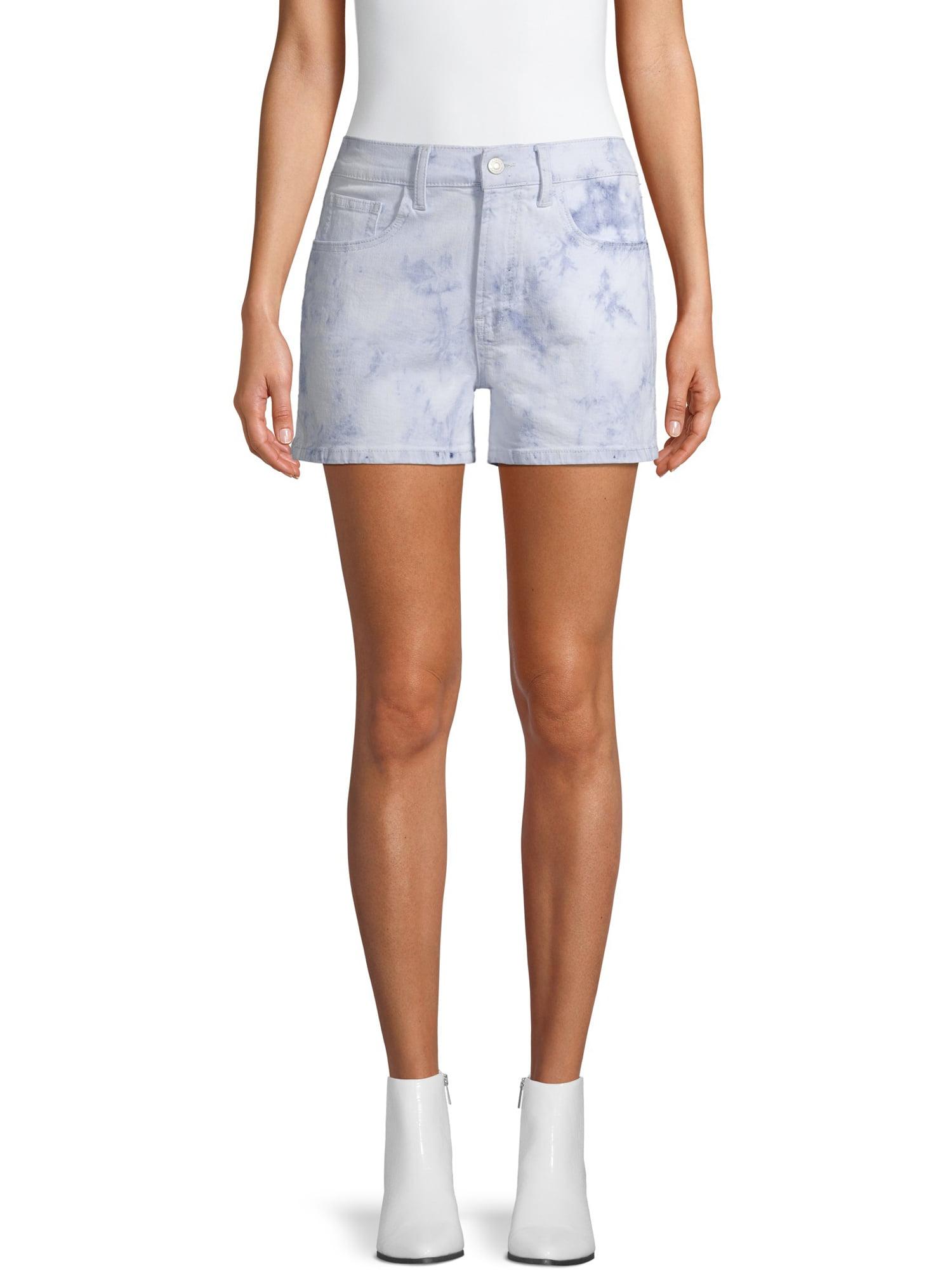 Jordache Vintage - Jordache Vintage Women's Cindy Triple Needle High Rise Shorts - Walmart.com