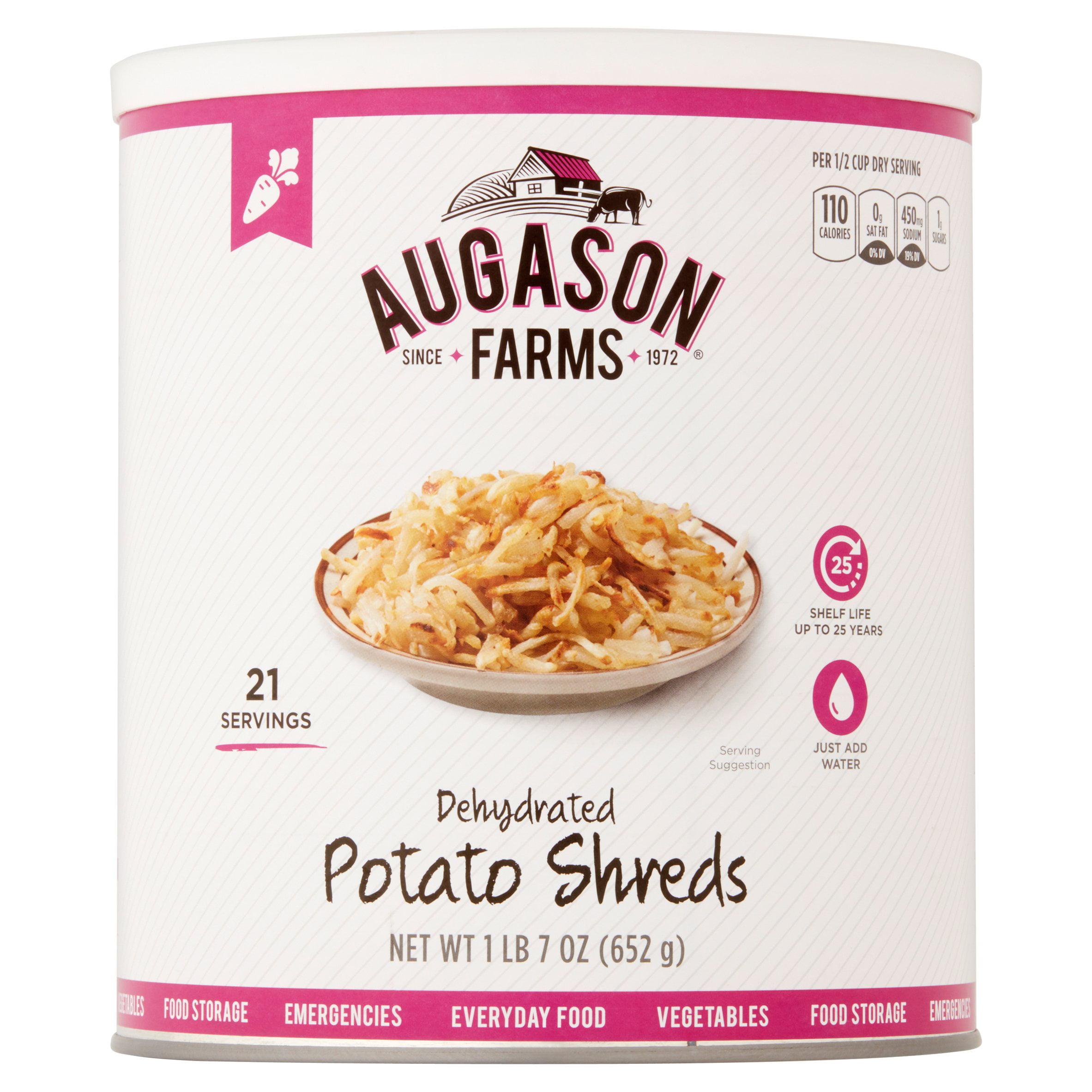 Augason Farms Emergency Food Dehydrated Potato Shreds, 23 oz by Blue Chip Group