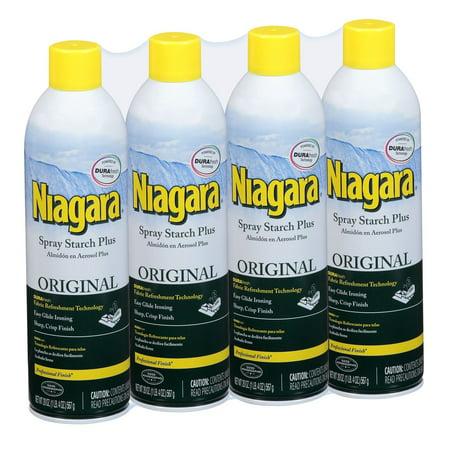 Product of Niagara Spray Starch, 4 ct. (Niagara Falls-outlet-shops)