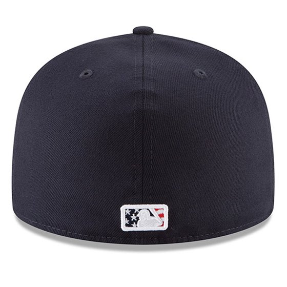sports shoes 0cafc 52491 New York Mets New Era 2018 Stars   Stripes 4th of July On-Field 59FIFTY  Fitted Hat - Navy - Walmart.com