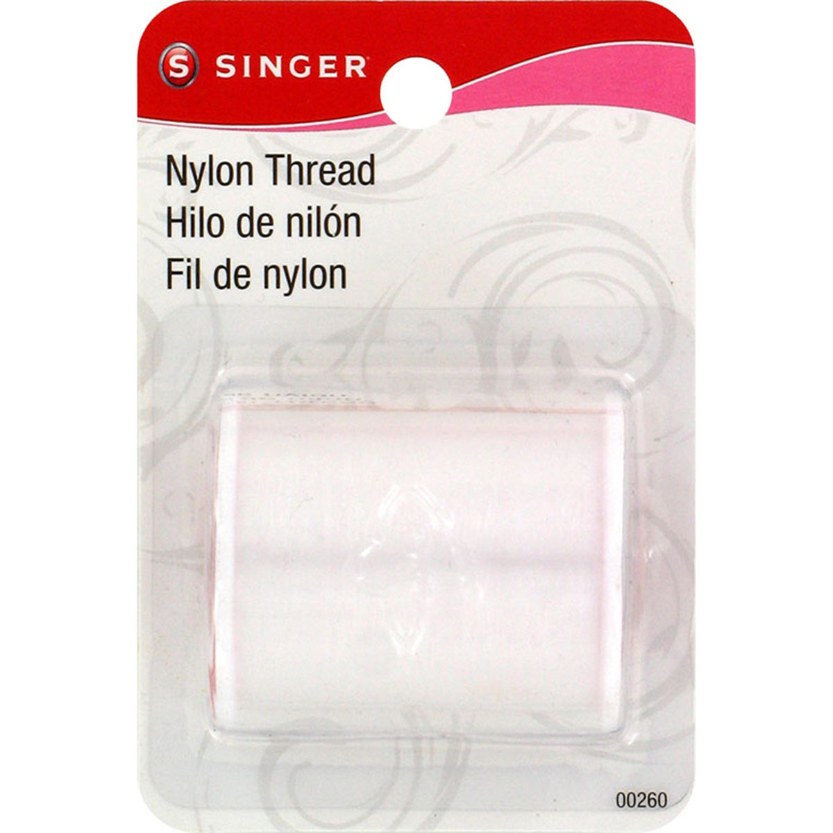 Nylon Thread 135yd-Clear