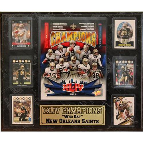 NFL New Orleans Saints Champions 6-Card Plaque, 13x20