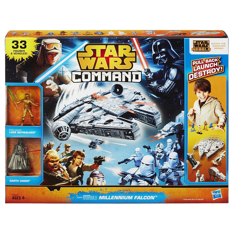 Star Wars Command Millennium Falcon Set