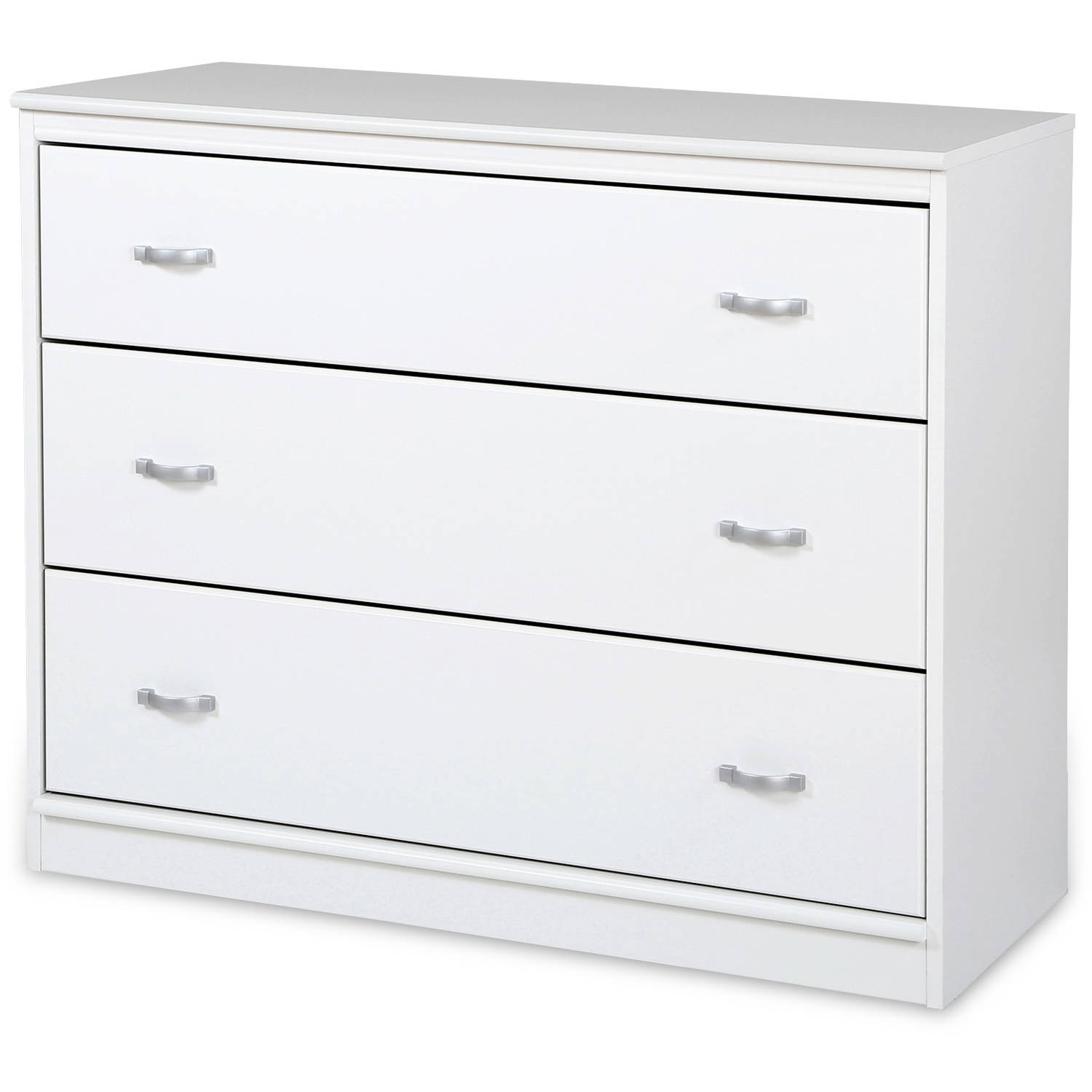 South Shore Mobby 3-Drawer Chest, Multiple Finishes