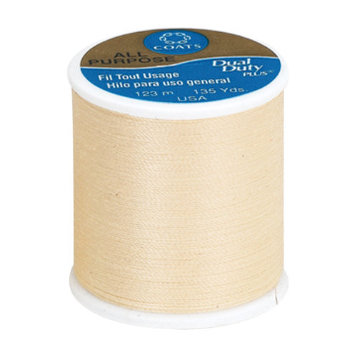 Coats & Clark Dual Duty Plus Thread, 135 yds, Chamois