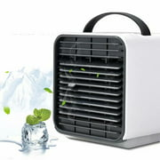 Mini Portable Air Conditioner Cooling For Bedroom Cooler Fan Cooling Fan for Room,white