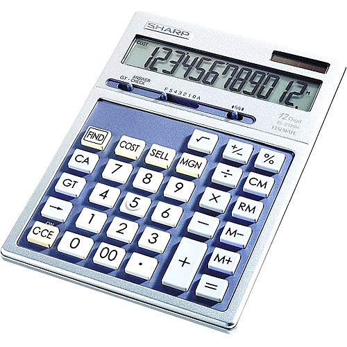 Sharp EL2139HB Executive Desktop Calculator