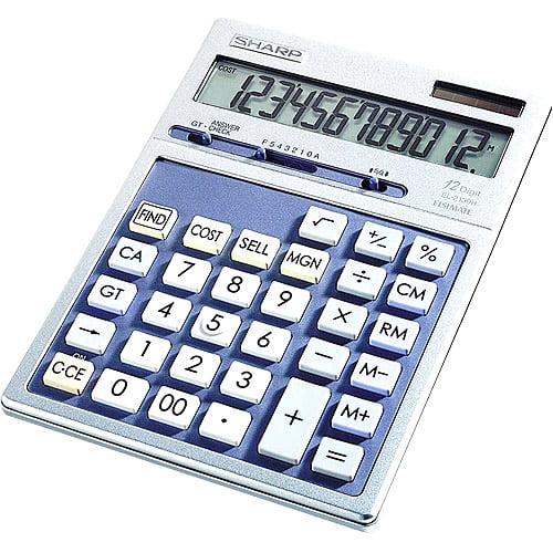 Sharp EL2139HB Executive Desktop Calculator