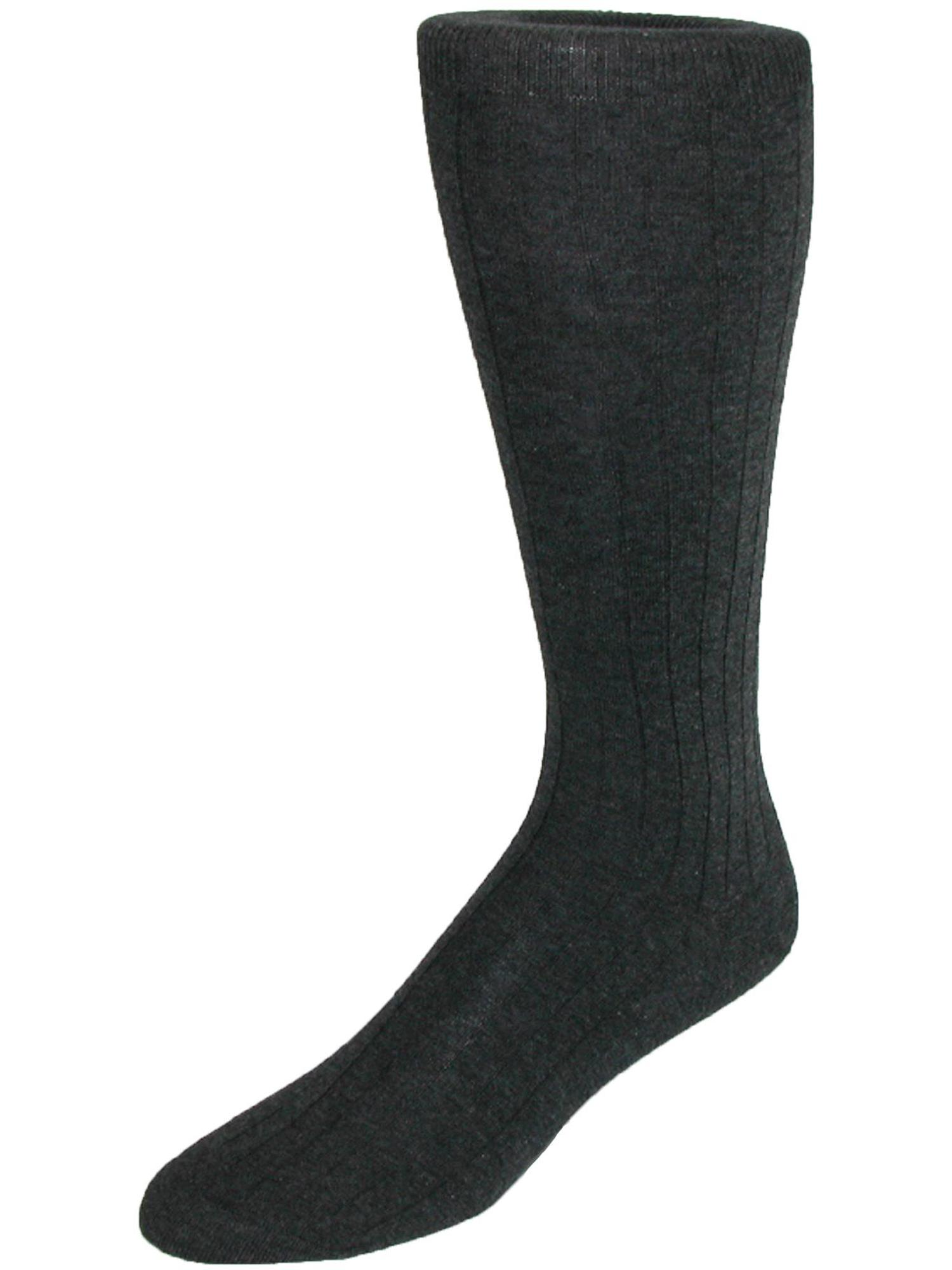 Size one size Men's Cotton Over the Calf Dress Trouser Socks