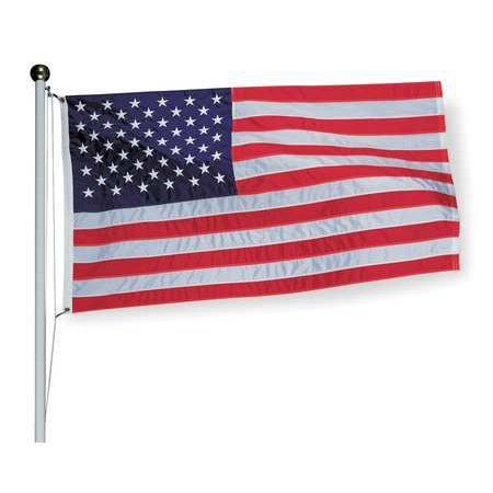american flag 3x5 ft. tough-tex the strongest, longest lasting flag by annin flagmakers, 100% made in usa with sewn stripes, embroidered stars and bra