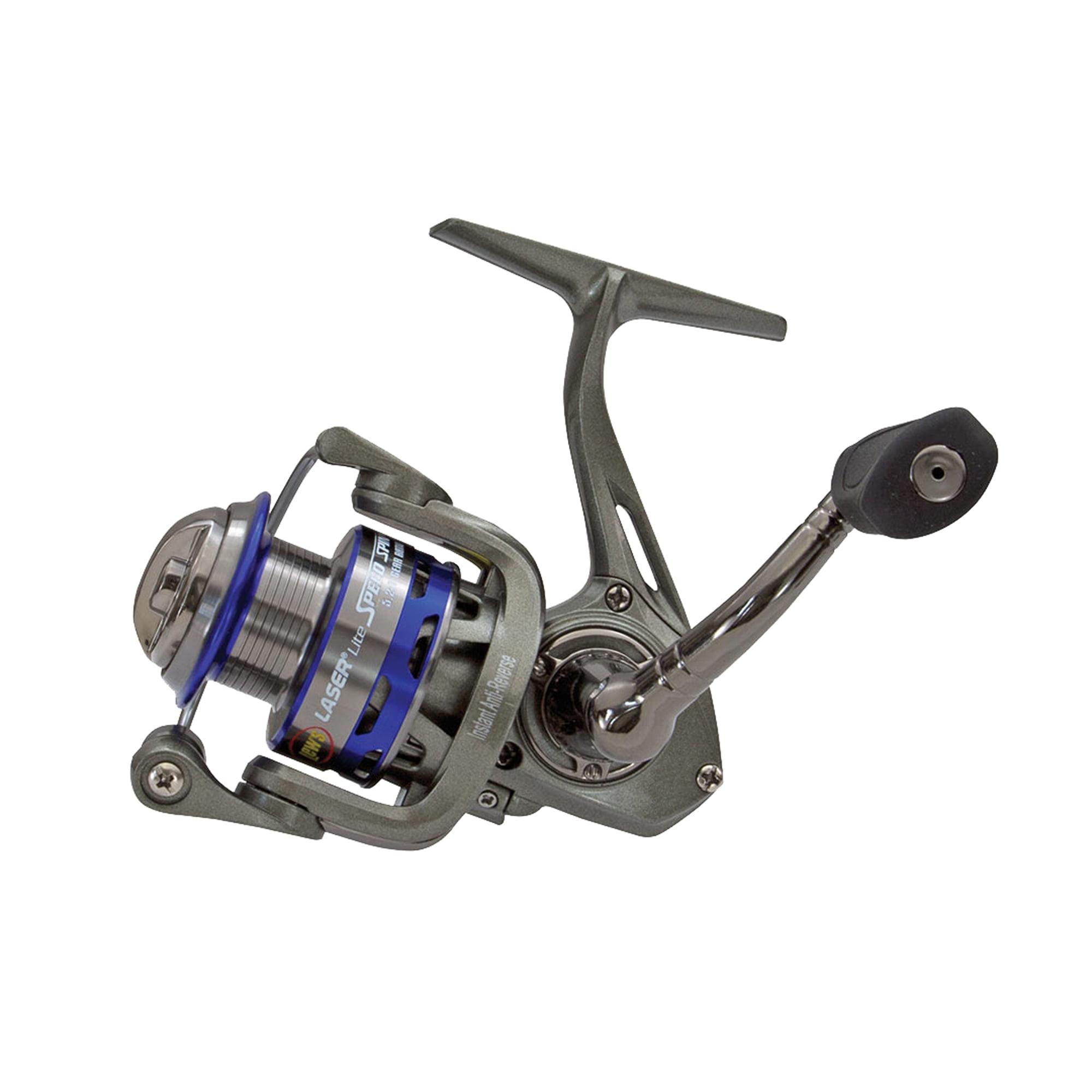 Lews Fishing LaserLite Speed Spin Reel LLS100, Boxed by Lews Fishing