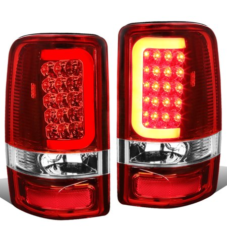 - For 00-06 Yukon Denali / Suburban / Tahoe GMT800 Pair of 3D LED Tail Brake Lights (Chrome Housing Red Lens) 02 03 04 05