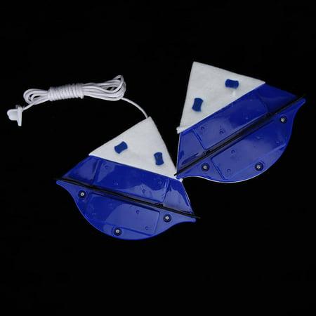 Sonew Outil de nettoyage de verre de fenêtre à la maison Surface d'essuyage de nettoyeur de brosse magnétique double face, Nettoyeur de brosse magnétique double face, Essuie-glace de brosse - image 5 de 8