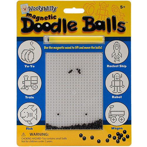 Wooly Willy Magnetic Game, Doodle Balls