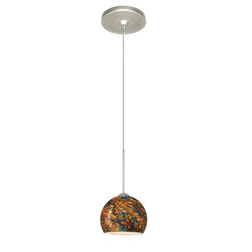 Besa Lighting  1XP-5658CE  Pendants  Palla  Indoor Lighting  ;Satin Nickel