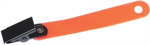 Allen Company Reflective Orange Trail Marker Clips 12-Pack 473