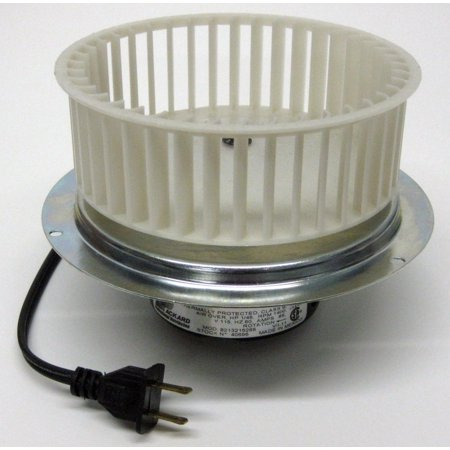 40696 Vent Bath Fan Motor & Blower Wheel for 0696B000 Nutone QT110 (Bath Fan Blower Wheel)
