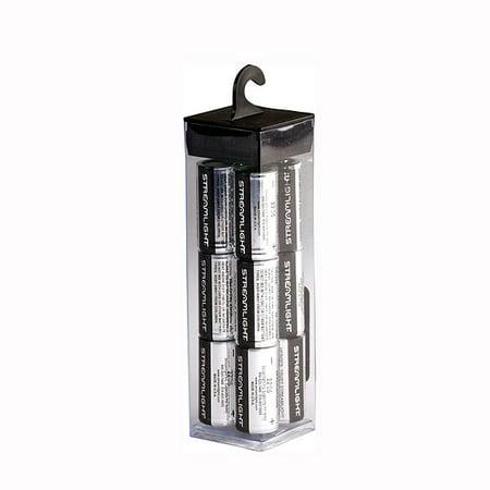 (Streamlight CR123 Lithium Batteries 12 Pack)