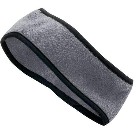 6753 Chill Fleece Sport Headband By Augusta Sportswear Color & Size Options Charcoal Heather One Size - Fleece Headbands