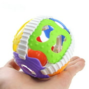 Newborn Baby Rattle Toy Bell Ball Musical Toys Little Boys Girls Teether Ball for 0-36 Months Toddler, Infant