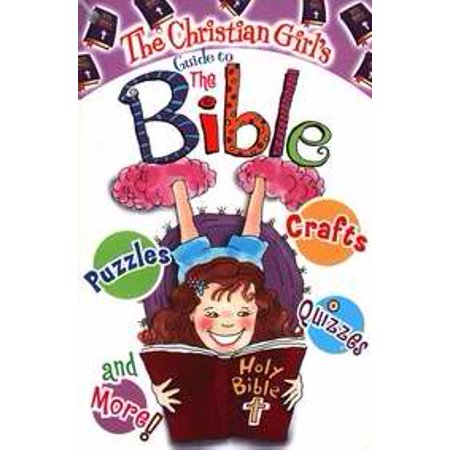 The Christian Girls Guide To The Bible  With Cross Key Chain