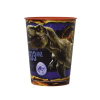 Jurassic World Plastic Cup, 16 oz, 1ct