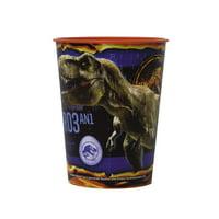 (5 Pack) Jurassic World Plastic Cup, 16 oz, 1ct
