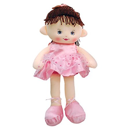Linzy Valerie Ballerina Rag Doll with Dress, Pink 16
