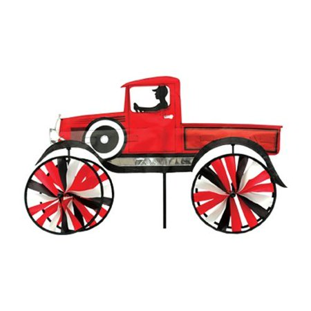 Premier designs old time truck wind spinner at garden for Garden spinners premier designs