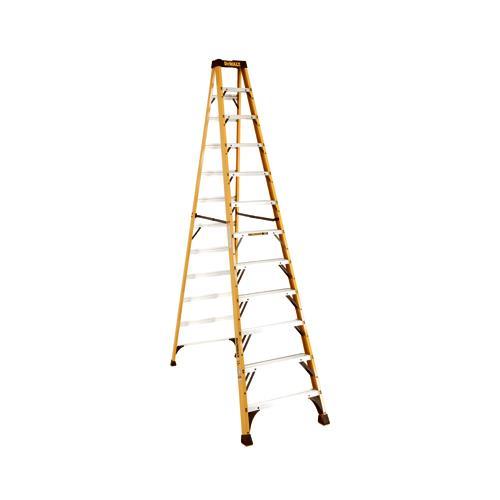 Louisville DXL3010-12 Step Ladder, Type 1A, Fiberglass, 1...