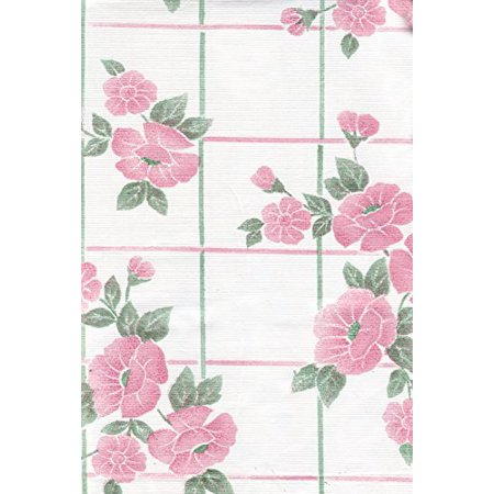 Pink Passion Vinyl Tablecloth With Umbrella Hole And