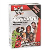 WWE Bandages - First Aid Supplies - 30 per Pack