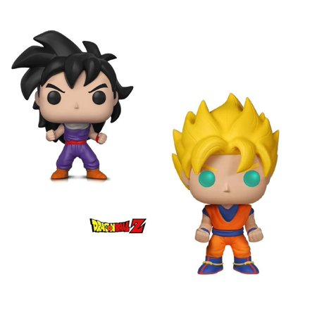 Warp Gadgets Bundle - Funko Pop Animation Dragonball Z - Super Saiyan Goku & Gohan (Training Outfit) (2 Items) (Dragonball Outfit)