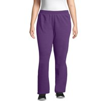 Just My Size Women's Plus Size Fleece Sweatpants (Regular and Petite Sizes)