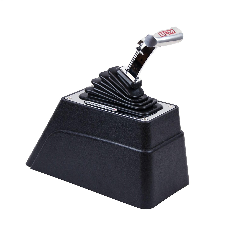 "GM TH400 Single Action Shifter Kit 6/"" Black Arm w// Black Knob trans auto trans"